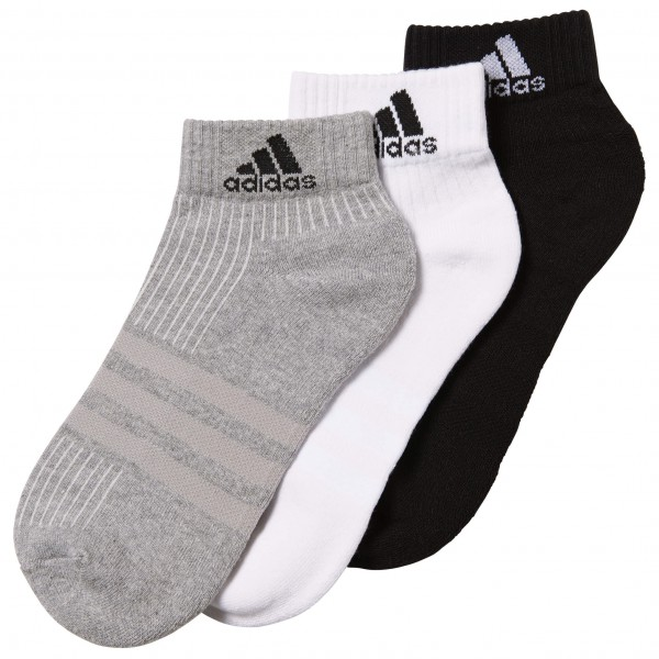 adidas - 3S Performance Ankle Half Cushioned 3PP