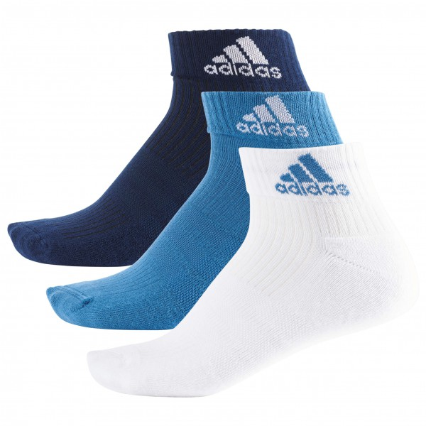 adidas - 3S Performance Ankle Half Cushioned 3PP - Calcetines multifuncionales