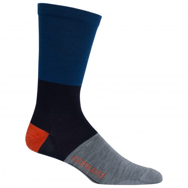 Icebreaker - Lifestyle Ultralight Crew Rugby Stripe