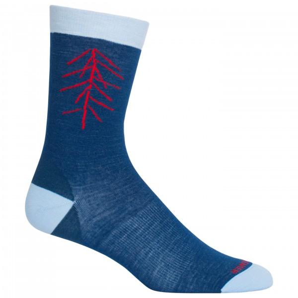 Icebreaker - Women's Lifestyle Fine Gauge UL Crew Lancewood - Multifunctionele sokken