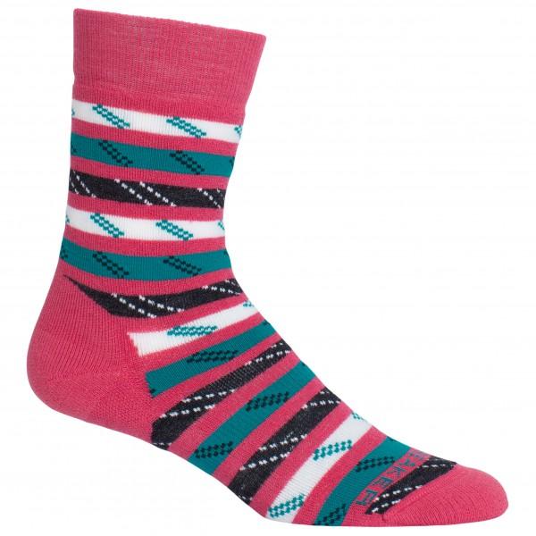 Icebreaker - Women's Lifestyle Medium Crew Rope Twist - Sports socks