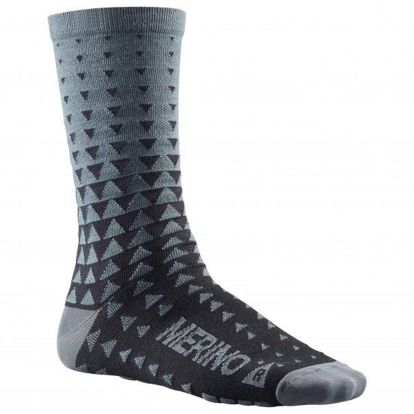 Mavic - Ksyrium Merino Graphic Sock - Cykelstrumpor
