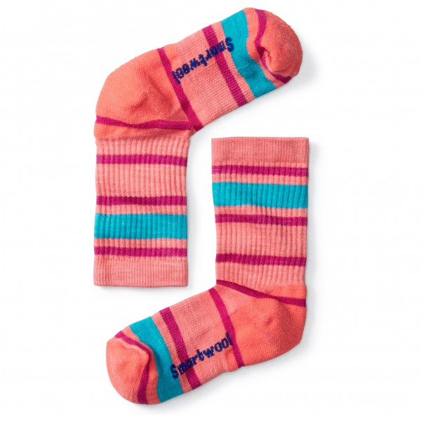 Smartwool - Kid's Striped Hike Light Crew - Wandersocken