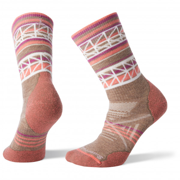 Smartwool - Women's PhD Outdoor Medium Pattern Crew - Walking socks
