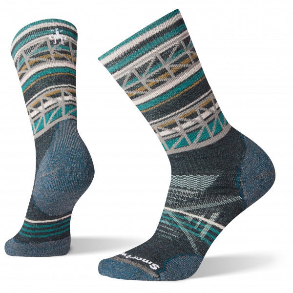 Smartwool - Women's PhD Outdoor Medium Pattern Crew - Walking socks