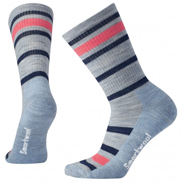 Smartwool - Women's Striped Hike Light Crew - Calcetines de trekking