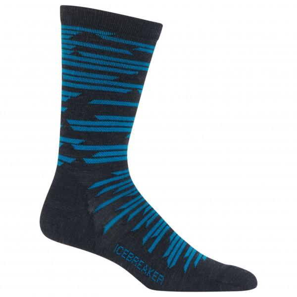 Icebreaker - Lifestyle Ultra Light Crew Zig Zag - Multifunctionele sokken