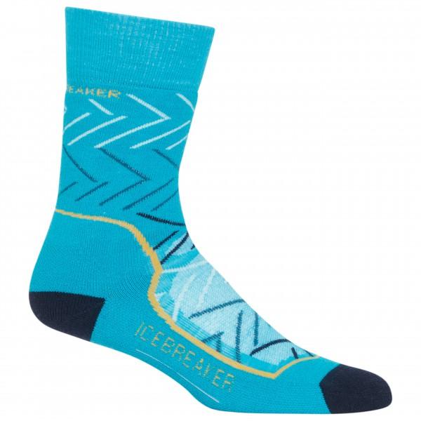 Icebreaker - Women's Hike+ Medium Crew Sunrise - Walking socks