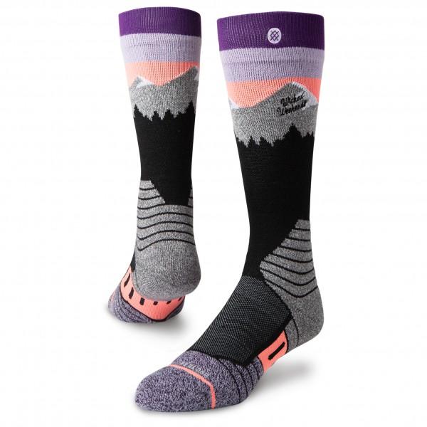 Stance - Women's White Caps - Ski socks