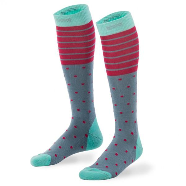 Mons Royale - Women's Lift Access Sock Spots & Stripe - Multifunktionssockor