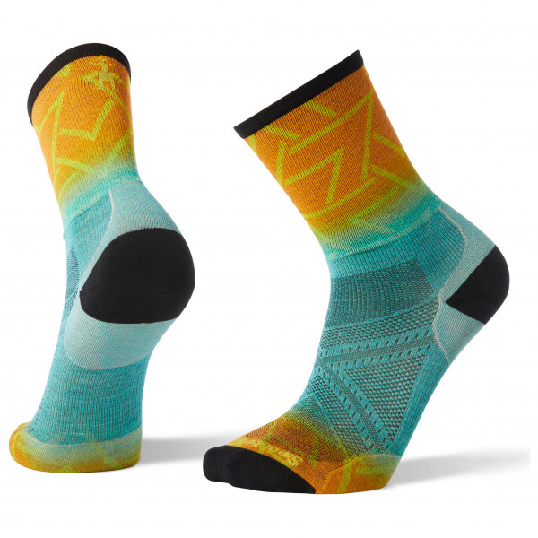 Smartwool - PhD Run Ultra Light Print Crew - Hardloopsokken