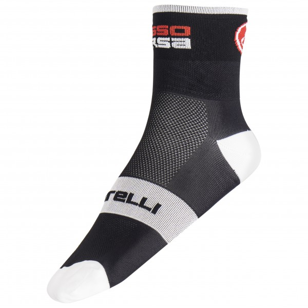 Castelli - Rossocorsa 6 Sock - Cycling socks