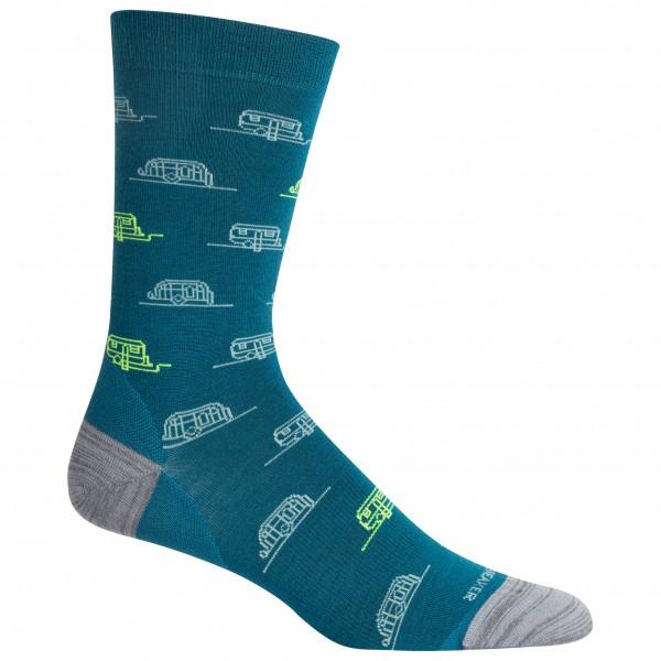 Icebreaker - Lifestyle Fine Gauge Crew Campers - Sports socks