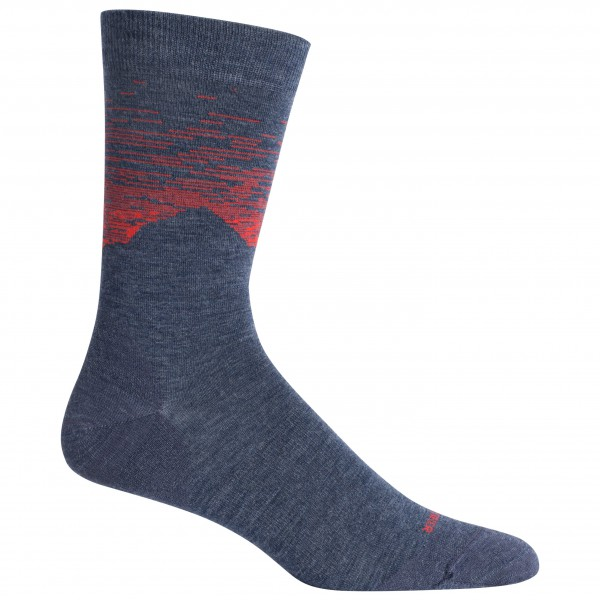 Icebreaker - Lifestyle Fine Gauge Crew Cook By Night - Multifunctionele sokken