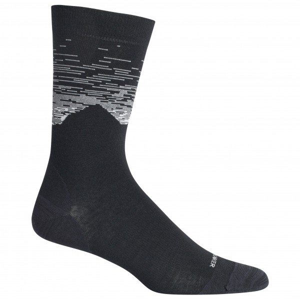 Icebreaker - Lifestyle Fine Gauge Crew Cook By Night - Sports socks