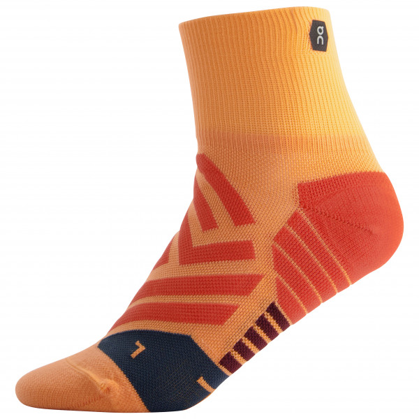 On - Women's Mid Sock - Juoksusukat