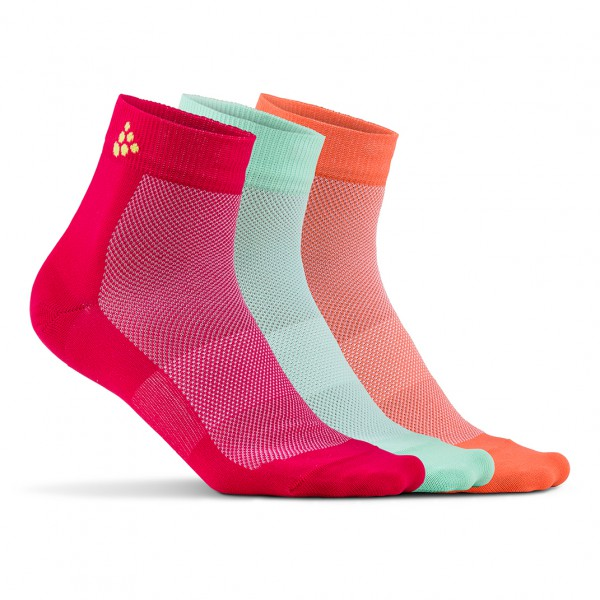 Craft - Greatness Mid 3-Pack Sock - Cykelsokker