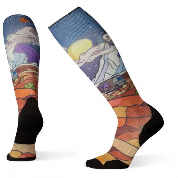Smartwool - PhD Ski Light Elite Buttermilk Nights Print - Ski socks