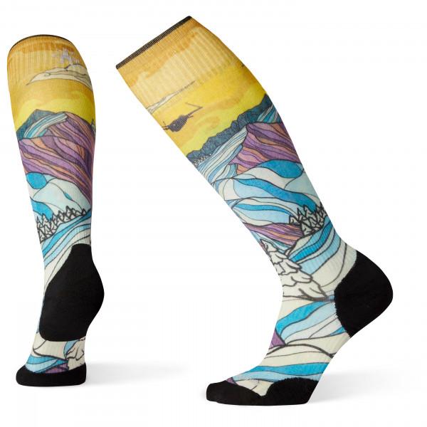 Smartwool - Women's PhD Ski Light Elite Afterglow Print - Calcetines de esquí