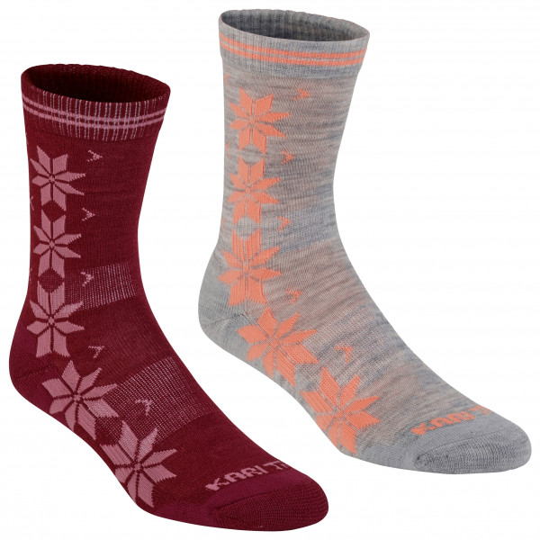 Kari Traa - Women's Vinst Wool Sock 2Pk - Merinovillasukat