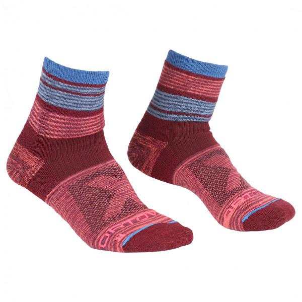Ortovox - Women's All Mountain Quarter Socks Warm - Wandersocken
