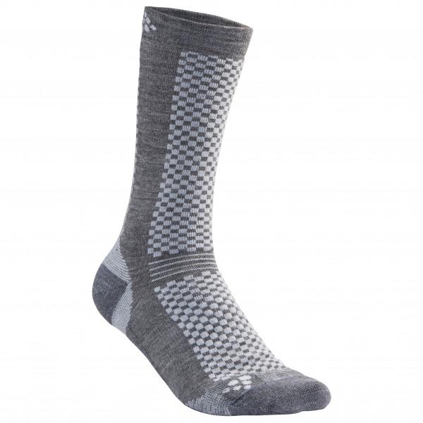 Craft - Warm Mid 2-Pack Sock - Monitoimisukat