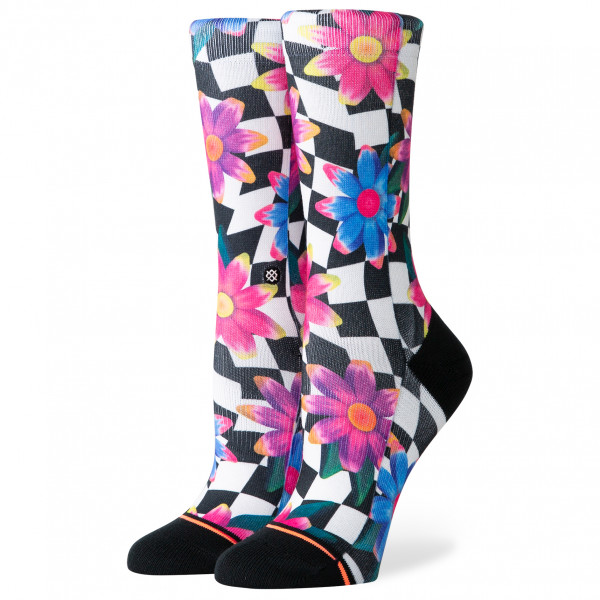 Stance - Women's Crazy Daisy Crew - Multifunktionssockor