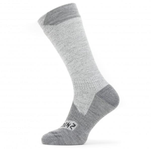 Sealskinz - Waterproof All Weather Mid Length Sock - Cykelstrumpor