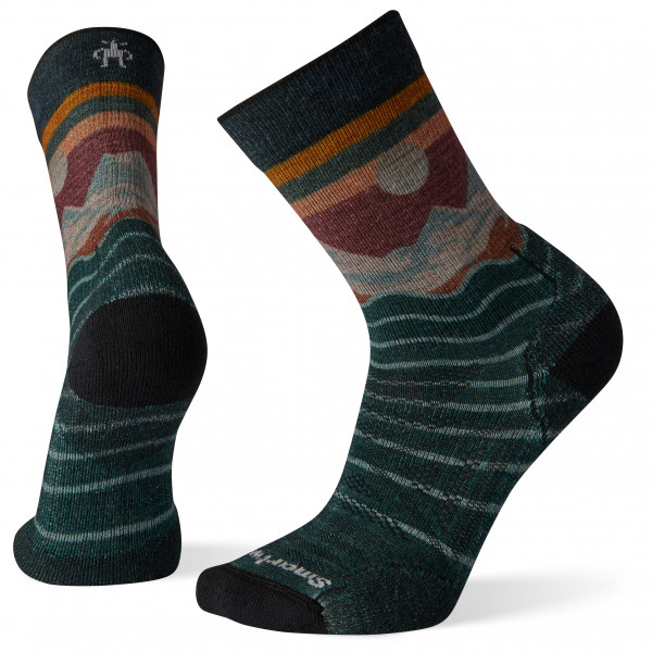 Smartwool - PhD Outdoor Light Front Range Print Crew - Walking socks