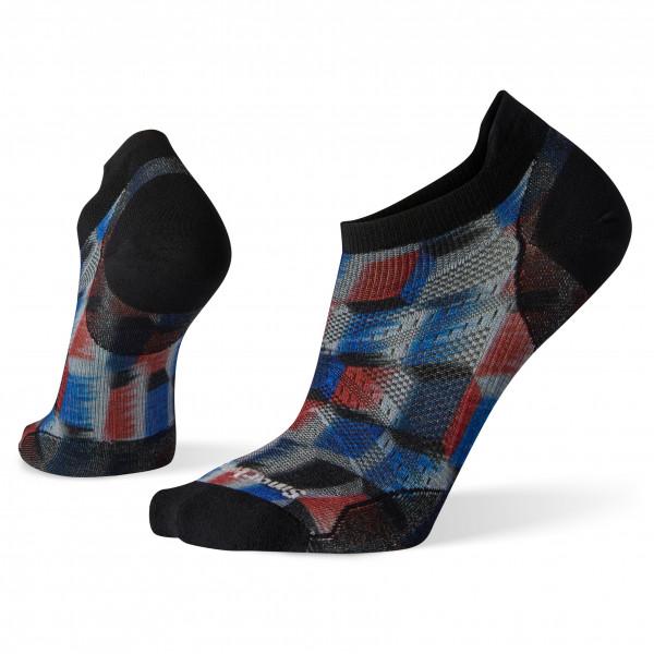 Smartwool - PhD Run Ultra Light Stacked Block Print Micro - Running socks