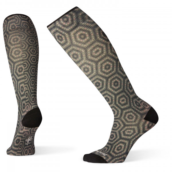 Smartwool - Women's Compression Hexa-Jet Print Otc - Compression socks