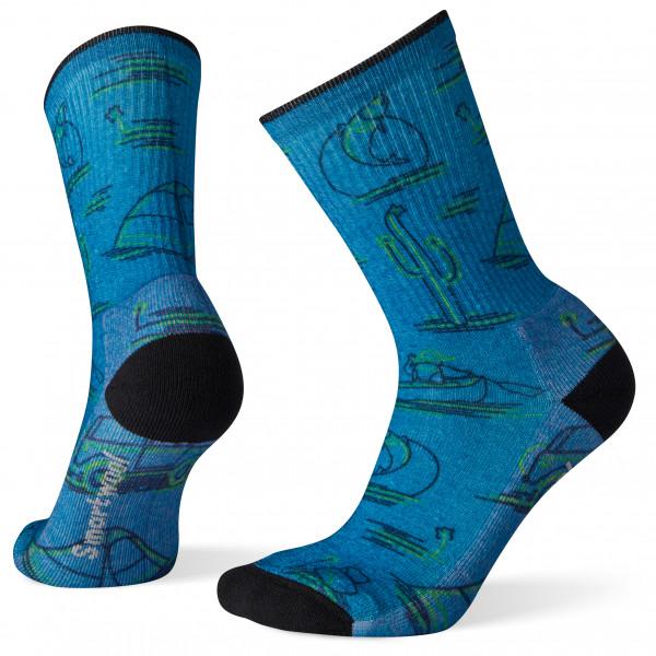 Smartwool - Women's Hike Light Down The River Print Crew - Walking socks