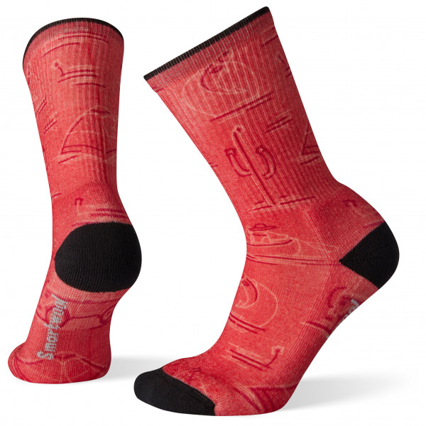Smartwool - Women's Hike Light Down The River Print Crew - Walking socks