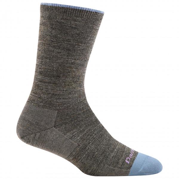 Darn Tough - Women's Solid Basic Crew Lightweight - Multifunctionele sokken