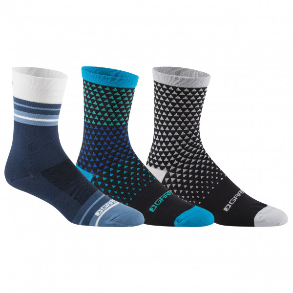 Garneau - Conti Long Cycling Socks 3-Pack - Cycling socks