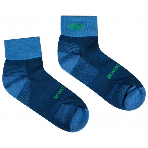 Rewoolution - Running Quarter Socks - Merinosocken