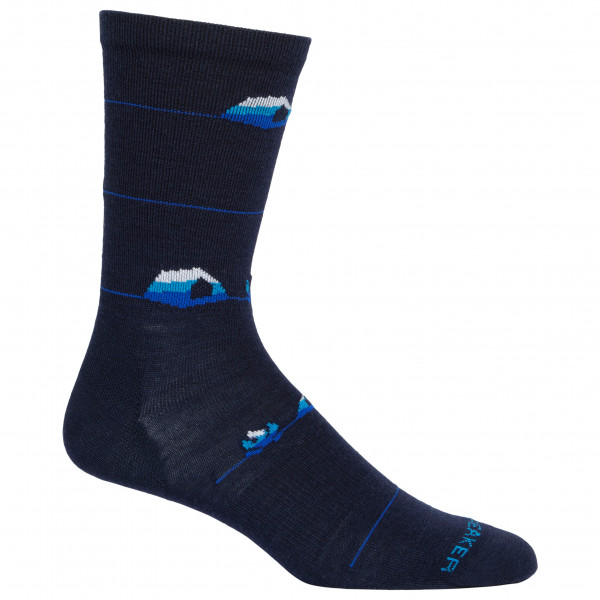 Icebreaker - Lifestyle Ultralight Crew Backcountry Camp - Sports socks
