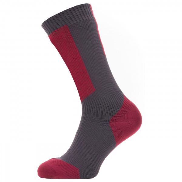 Waterproof Cold Weather Mid Sock w/ Hydrostop - Cycling socks