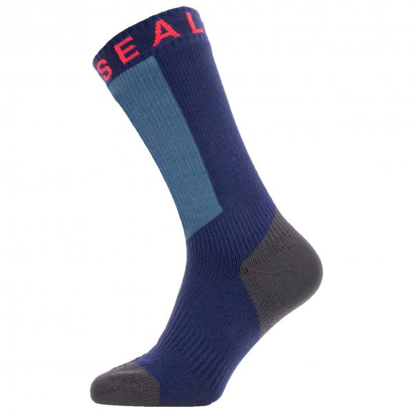 Waterproof Warm Weather Mid Sock w/ Hydrostop - Cycling socks