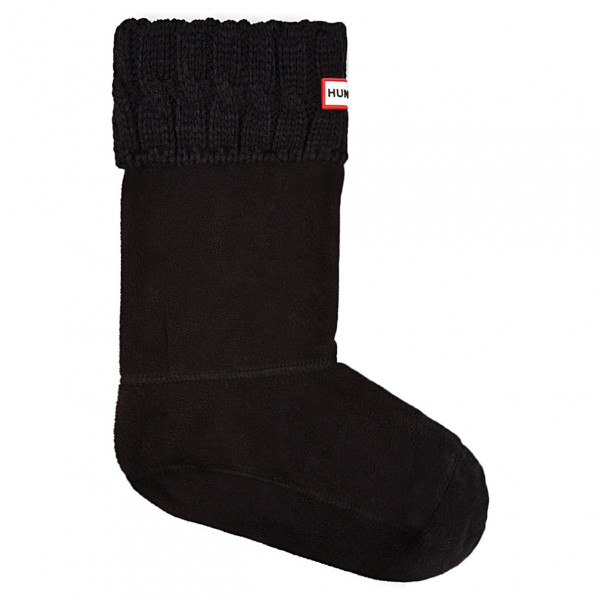 Hunter - Women's 6 Stitch Cable Boot Sock Short - Wintersocken
