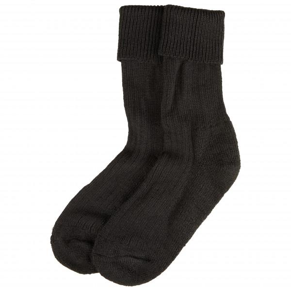 Krempelsocke Reine Wolle mit Plschsohle - Sports socks