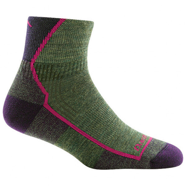 Darn Tough - Women's Hiker 1/4 Midweight with Cushion - Wandersocken