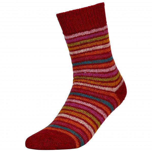 Hirsch Natur - Vollplüschringelsocke Reine Wolle - Sports socks