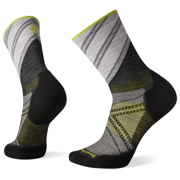 PhD Run Light Elite Pattern Crew - Running socks