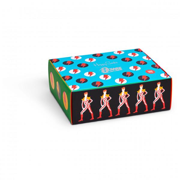 Happy Socks - Bowie Gift Set 3-Pack - Monitoimisukat