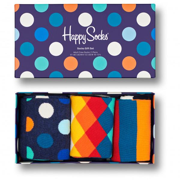 Classic Multi-Color Socks Gift Set 3-Pack - Sports socks