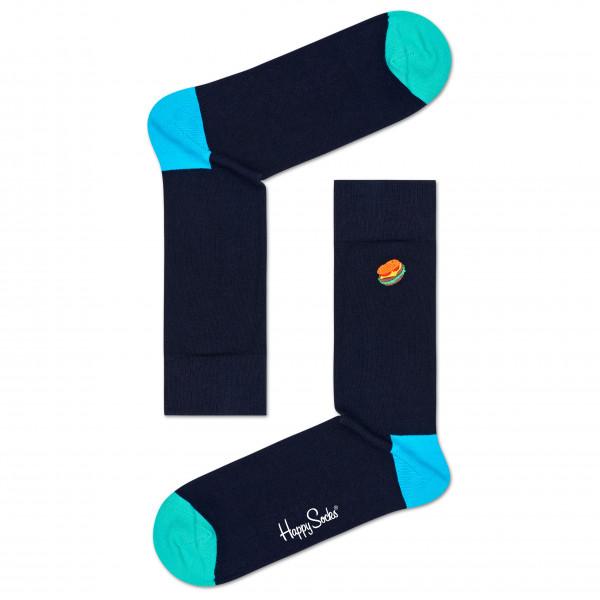 Embroidery Burger Sock - Sports socks