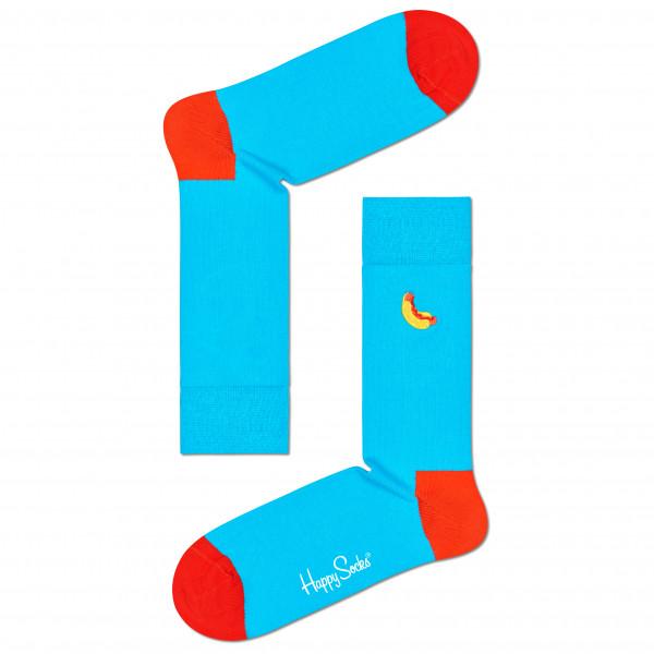 Embroidery Hot Dog Sock - Sports socks