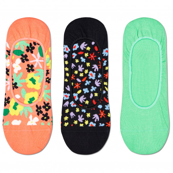 Happy Socks - Flower Liner Sock 3-Pack - Multifunktionssocken