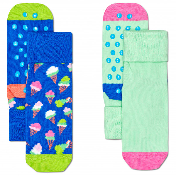Kid's Ice Cream Anti Slip 2-Pack - Sports socks